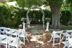 Small Backyard Weddings on Pinterest Small Wedding