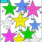 This is a cute set of star people.  This would go great on a calendar, general worksheets and lesson plans, bookmarks, and many other projects. The...