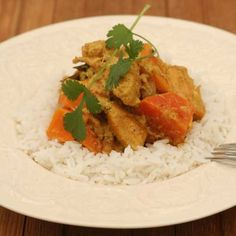 chicken and sweet potato curry