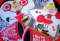 Cheerleading Cookies sugar by julie