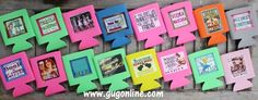 Assorted Fun Koozies www.gugonline.com $6.95