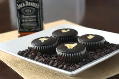 Whiskey spiked cheesecake filled cupcakes!