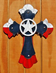 I can make this  Decorative Texas Stacked Cross. $30.00, via Etsy.y