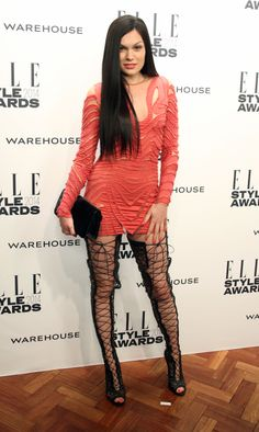 Jessie J attends the ELLE Style Awards
