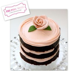 Sweet Miette-inspired mini cake.