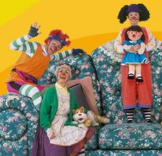 The Big Comfy Couch- by far the most bad ass TV show