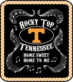 University of Tennessee Football Logo | the first products-T-shirts and ball caps featuring the Rocky Top logo ...
