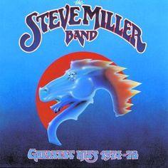 Steve Miller Band.  Greatest Hits. the joker, greatest hit, music, concert, song, miller band, classic rock, steve miller, album cover