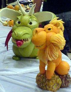 Fruit Art - Animals