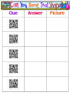 This blog shows so many ways to use QR codes in the classroom. Trying to incorporate the use of one iPad.
