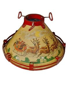 antique christmas tree stand . . .