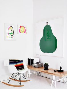 Pear! That is the art for the kitchen!