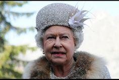 Queen Elizabeth II visits the Hrebienok ski resort in Slovakia on Oct. 24, 2008