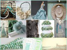 wedding colors, mint weddings