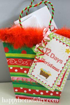 The 12 Days of Christmas – A Celebration of the Nativity www.247moms.com #247moms