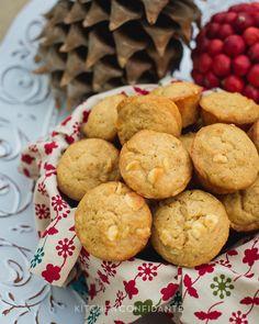 White Chococolate Graham Cracker Muffins