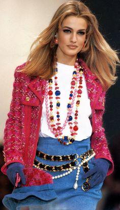supermodelshrine:    Karen for Chanel, f/w 1991/92