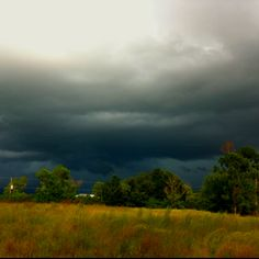 Florida thunderstorm-One of these rolling through every afternoon