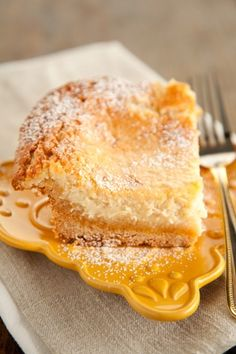 Elvis gooey butter cakes from Paula Deen