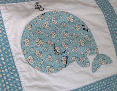 quilt as you go baby quilt whale block | Recent Photos The Commons Getty Collection Galleries World Map App ...