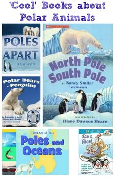 Fun reads that explore the poles, penguins, polar bears and more things at the ends of the Earth!