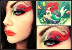 Little Mermaid makeup :)