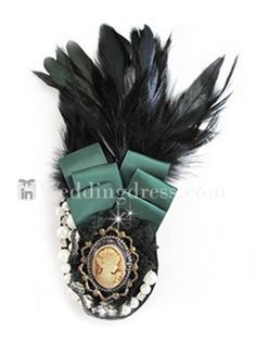 Feather Brooches,accessories