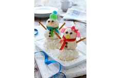 Winter Wonderland Snowman Shortbreads | canada.com