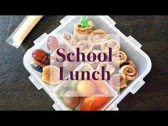 Healthy Lunch Ideas Beyond the Sandwich | Back to School | One Hungry Mama--Really Cute Ideas