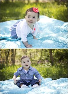 First Birthday Portrait Session | amylorrainephotography.com