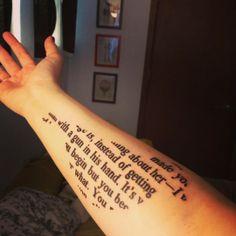 To Kill a Mockingbird tattoo #harperlee #literarytattoo
