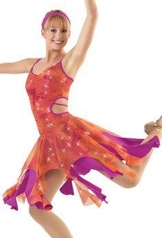 Skating Dance Costume 4793 Dress Lyrical Ballet Pageant | eBay