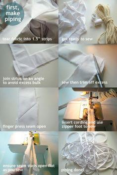 Fantastic slipcover tutorial!