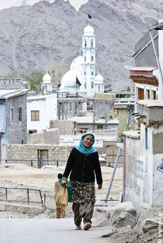 Muslim Community in Leh