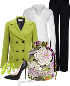 """Springtime Fresh"" by orysa on Polyvore"