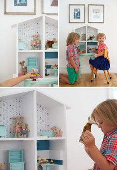 dollhouse diy from One More Mushroom