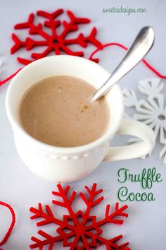 fudge truffle hot cocoa- this is the best!