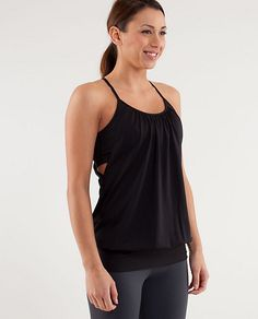 No Limits Tank is a great yoga top
