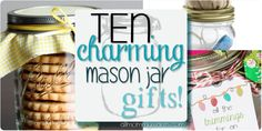 10 Easy & Charming Gifts Made From Mason Jars