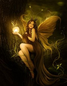Fairy art. Fantasy Fairy Art. #fairy-art #fairy-graphic #fairy #painting.