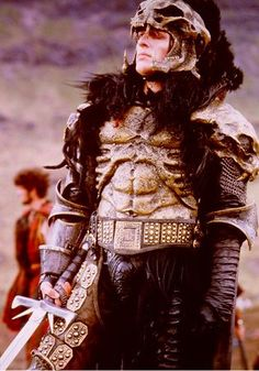 the kurgan.Maybe i dont want him to woo me, he should just sit in a corner so I can look at him.
