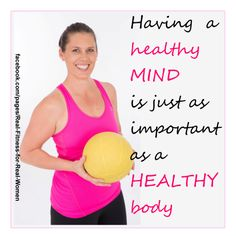 Get your head right and your body will follow...think about it.... www.realfitnessforrealwomen.com.au
