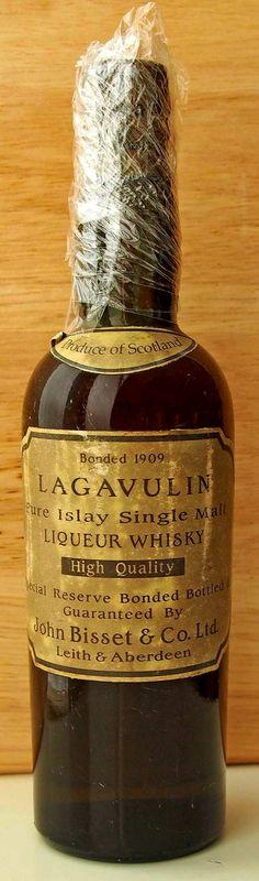 Lagavulin 1909 John Bisset & Co bottling. F&R