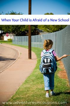 Starting a new school can be scary for any kid. Here's how I handled it recently with my 9 year old.