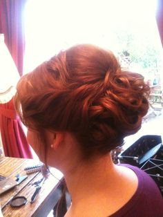 Fordham Hair Design ... Wedding Bridal Hair Specialist: Downton Abbey inspired Bridal hair at Kingscote Barn