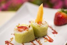 Frushi Recipe served at Food and Wine Festival  in EPCOT at Disney World