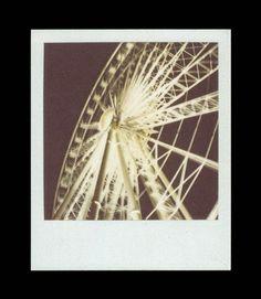 Ferris Wheel Print by strangedaisy.