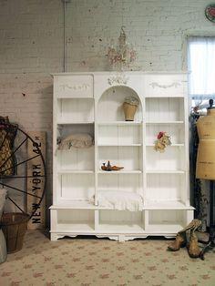 Gorgeous painted bookshelf
