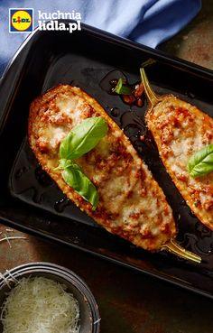 Faszerowany bakłażan po włosku. Kuchnia Lidla - Lidl Polska. #lidl #pascal #baklazan