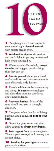 Inspiring tips for family caregivers #alzheimers #tgen #mindcrowd www.mindcrowd.org